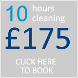 book 10 hrs cleaning for £148