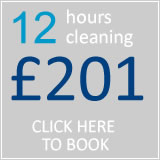book 12 hrs cleaning for £174