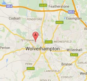 wolverhampton map